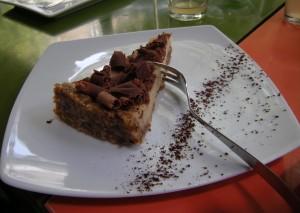 Gâteau amandes-citron vegan