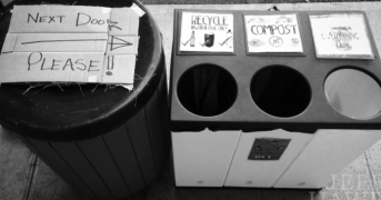 waste diversion bin