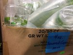 cornbased 4-oz sample cup