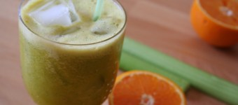 Sellerie Orangen Smoothie