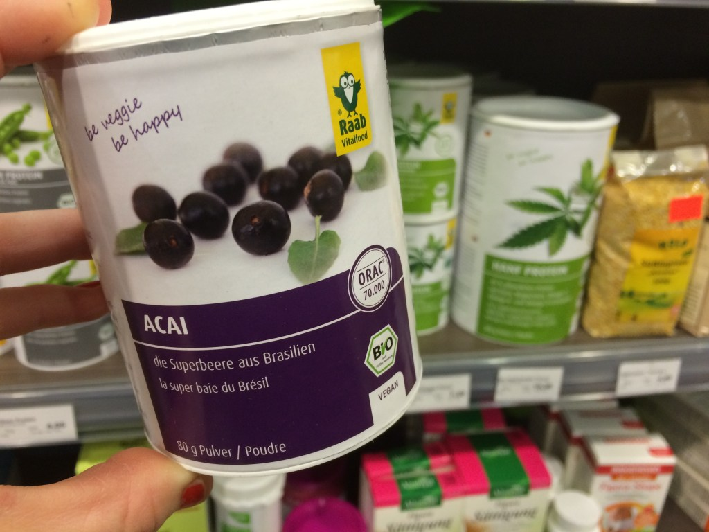 Acai Beere Superfood Vegfoodlove