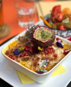 #food in Bruges, Belgium