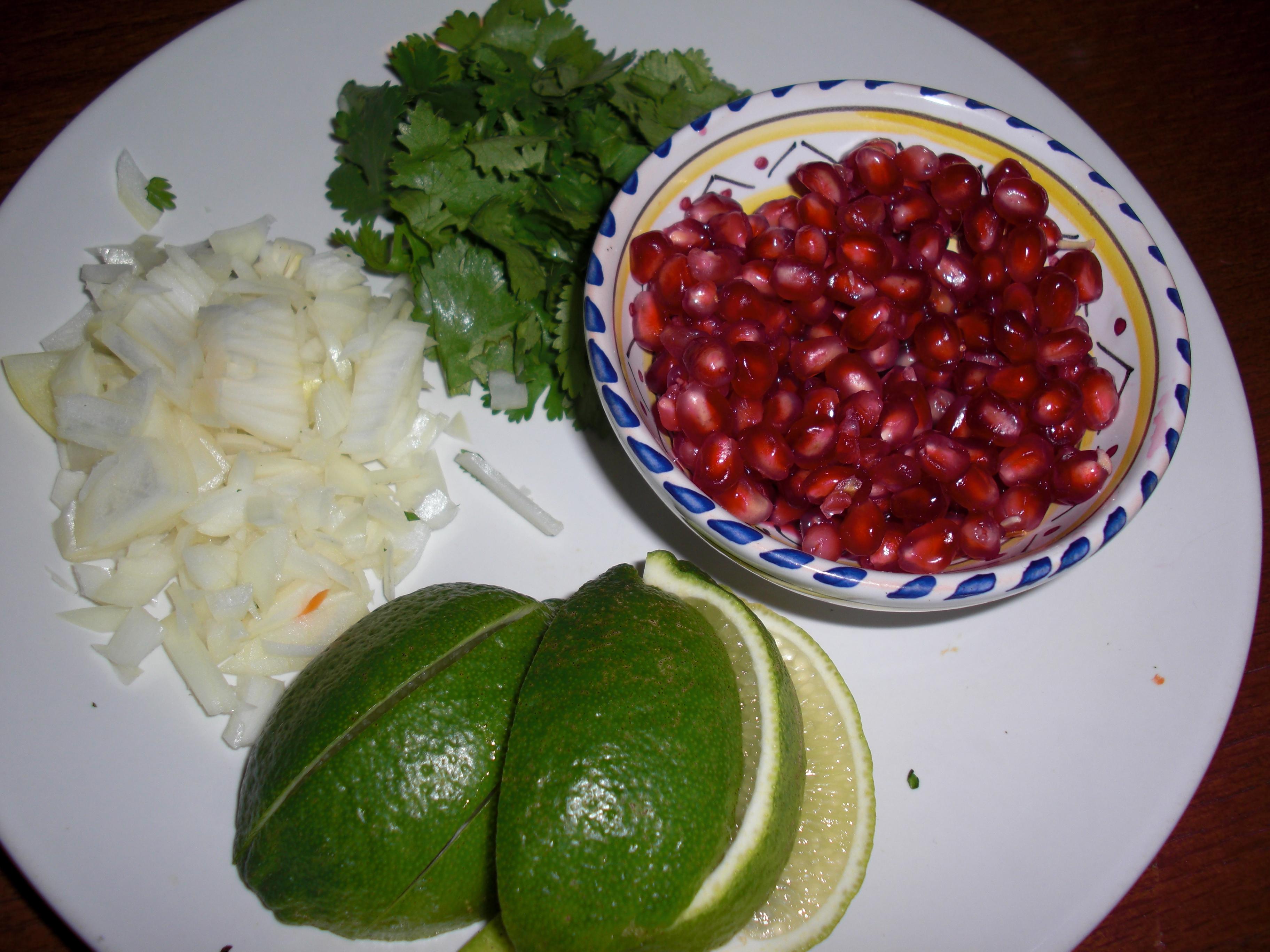 Spicy Chorizo Enchilada toppings