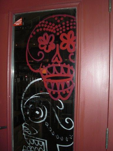 El Camino Real decorated door