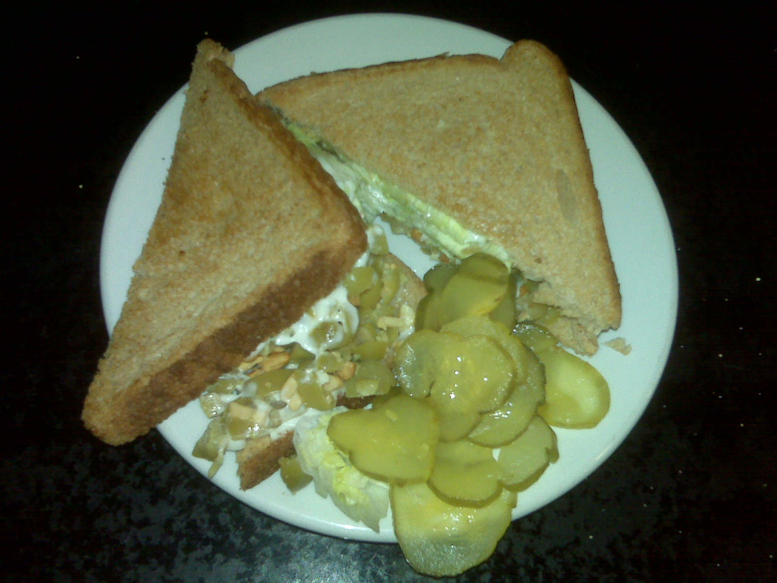 Olive nut sandwich at Olympia Candy Kitchen
