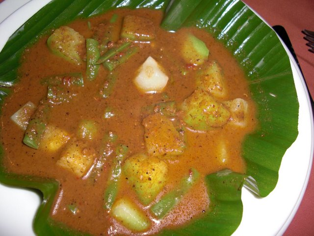 Vegetables with Pepin Sauce