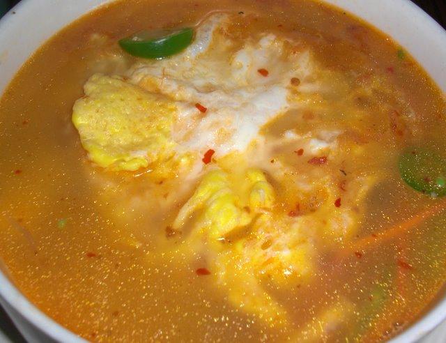Indonesian Tofu Soup