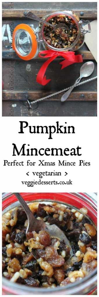 Pumpkin Mincemeat | Veggie Desserts Blog