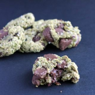 Avocado Oat Cookies