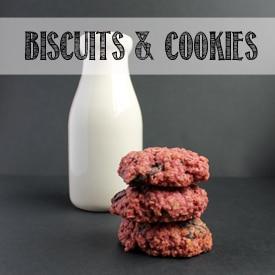 VEGGIE DESSERTS   BISCUITS & COOKIES
