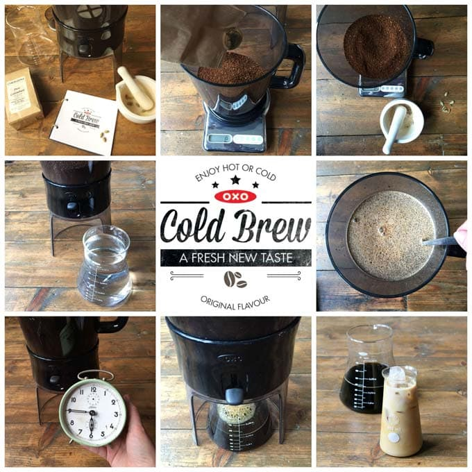 Cardamom Infused Cold Brew Iced Coffee | Veggie Desserts Blog