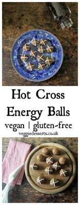 Hot Cross Balls | Vegan & Gluten-Free | Veggie Desserts Blog