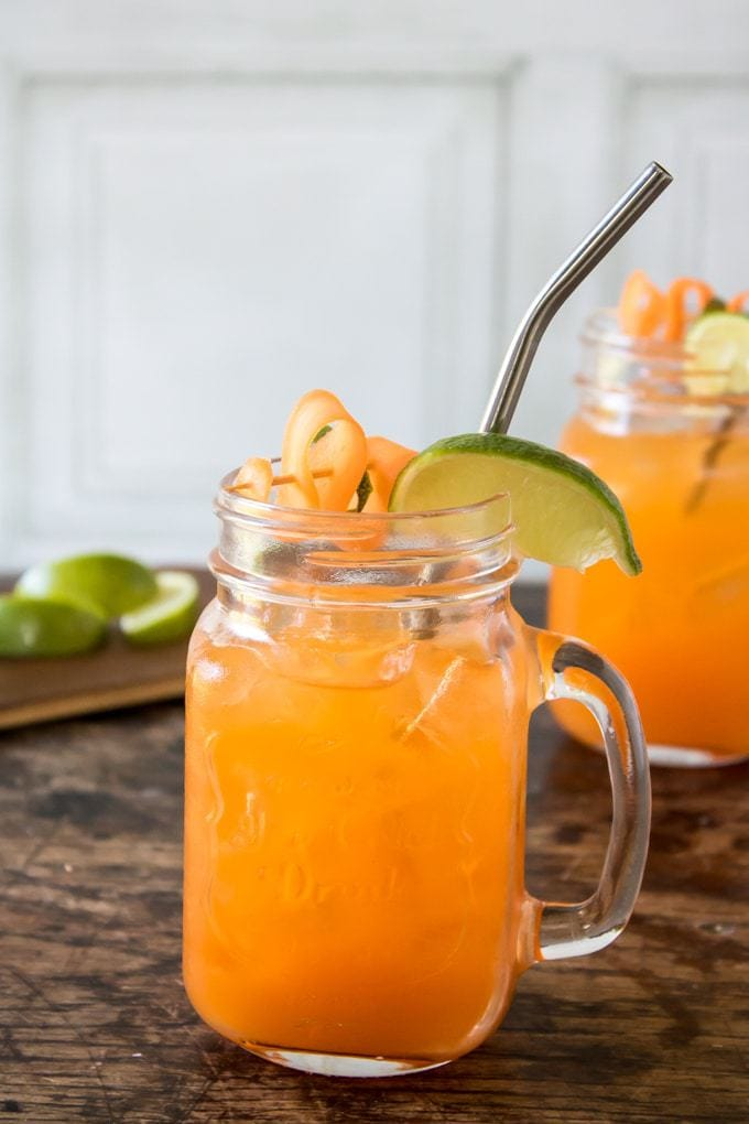 Carrot Moscow Mule | Veggie Desserts Blog