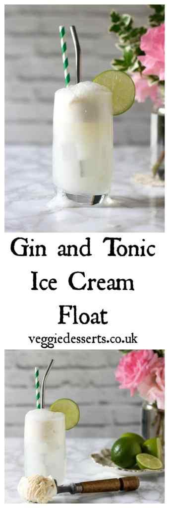 Gin and Tonic Float   Veggie Desserts Blog