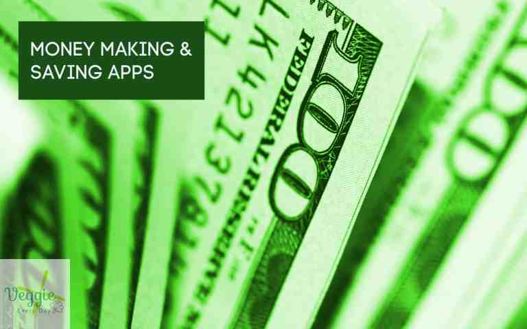cover image for post about apps to make money and save money