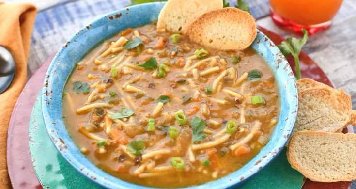 Instant Pot Recipe: Vegan Noodle Soup