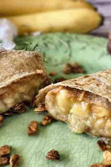 Peanut Butter Banana Roll-ups