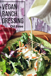 Oil-Free Vegan Ranch Dressing