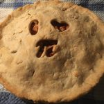 simply pastry pie with the phrase I love Pi cut onto the top crust