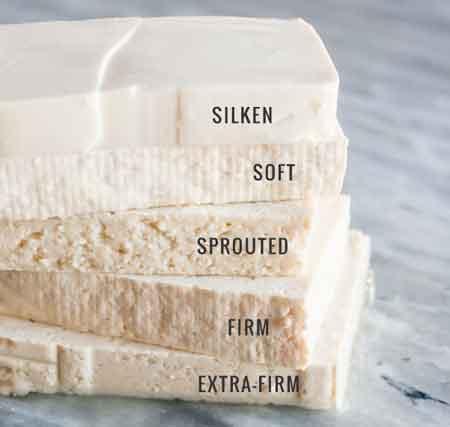 types of tofu