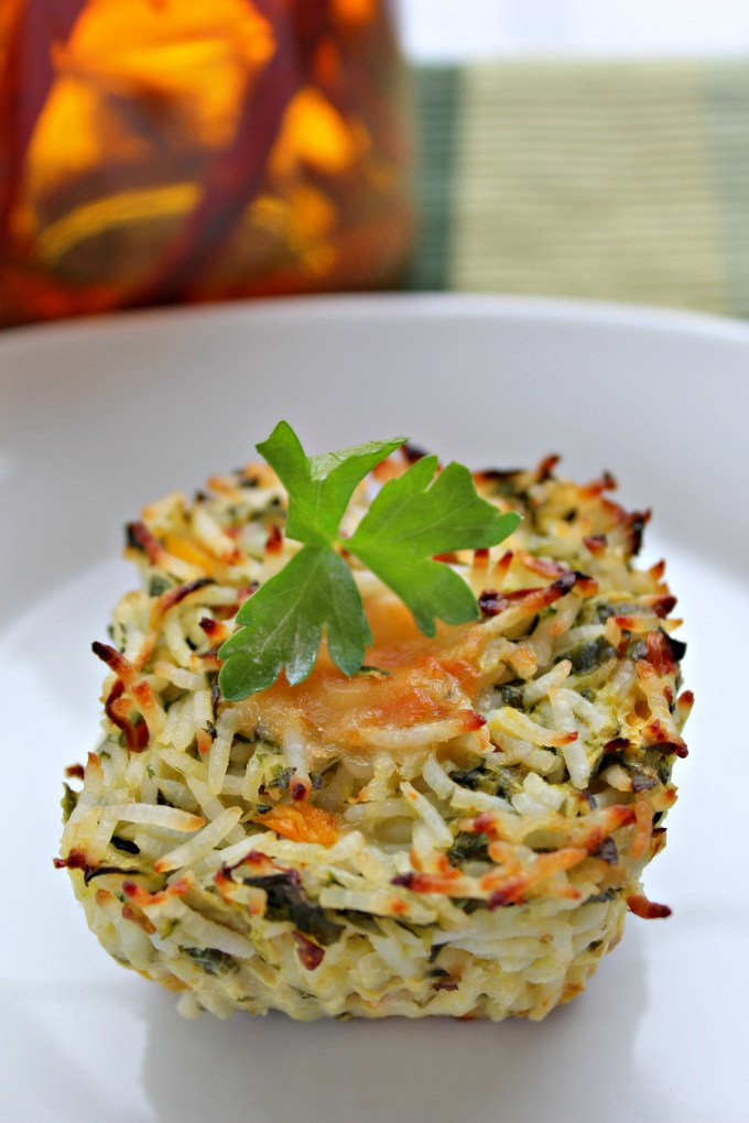 Southwest Veggie Rice Cups are savory bites of pure cheesy goodness packed into cupcake form.