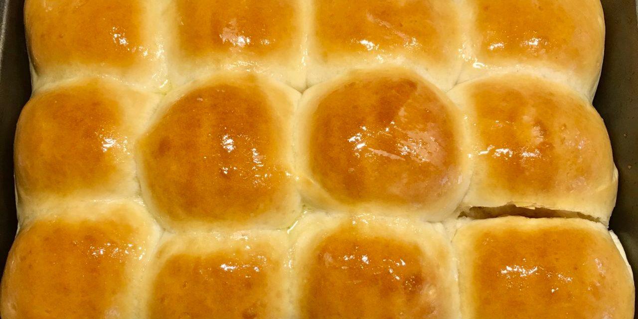 Eggless Pav Buns Recipe – Dinner Roll