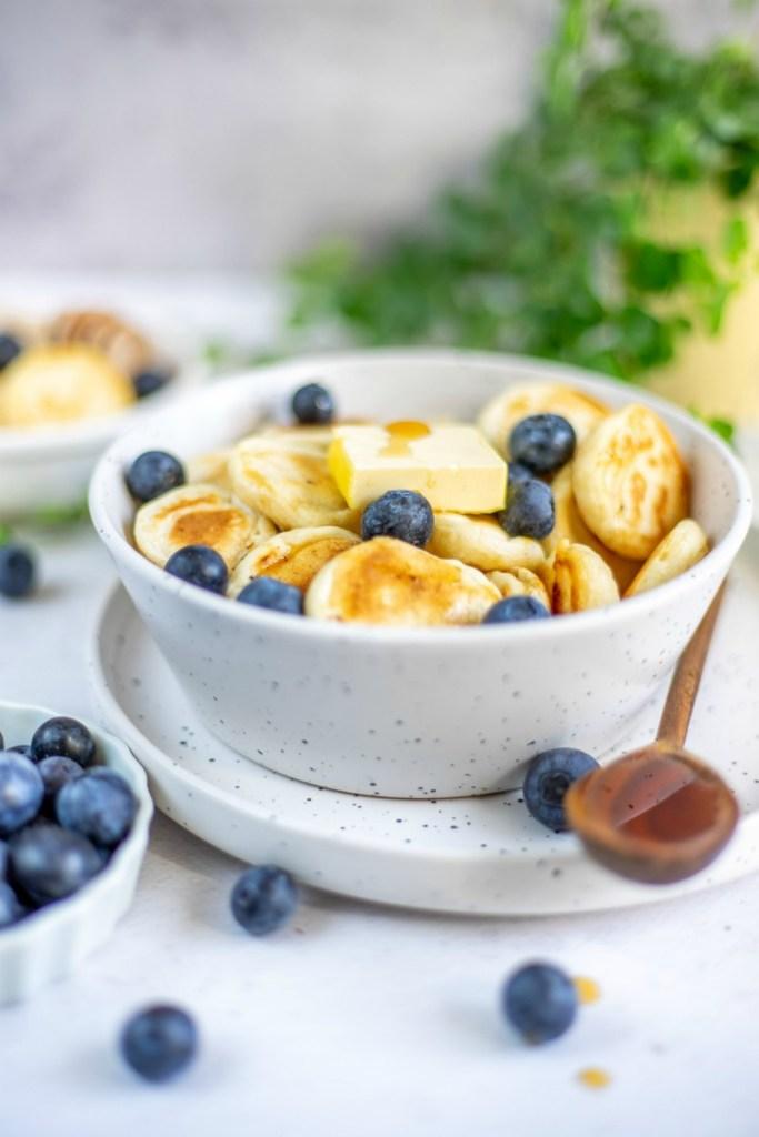 afbeelding van vegan pancake cereal