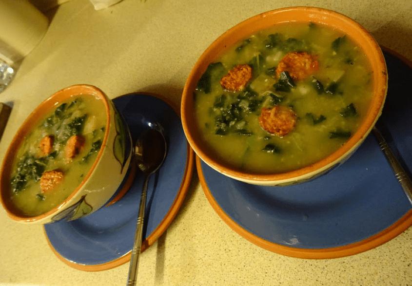 Cultural Corner - Portuguese Vegan Caldo Verde