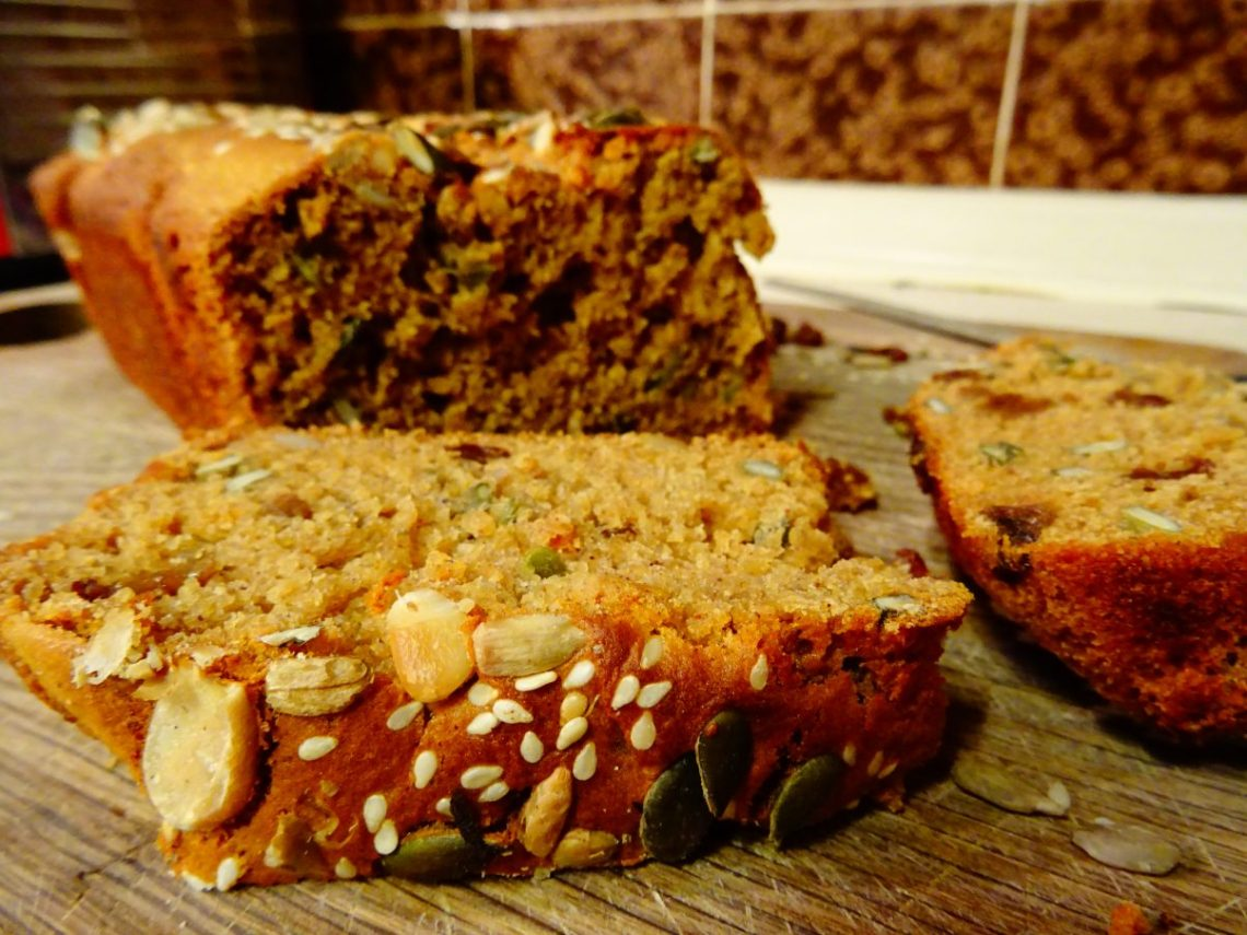 Vegan Spiced Pumpkin Loaf Recipe