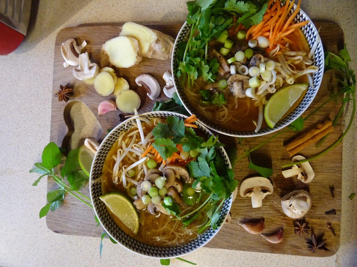 Vegan Vietnamese Pho Recipe
