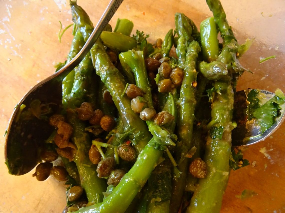 Vegan Summer Asparagus Salad