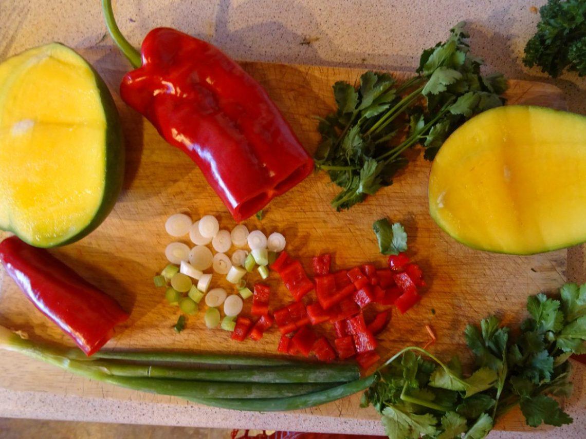 Vegan Black Bean and Mango Salad