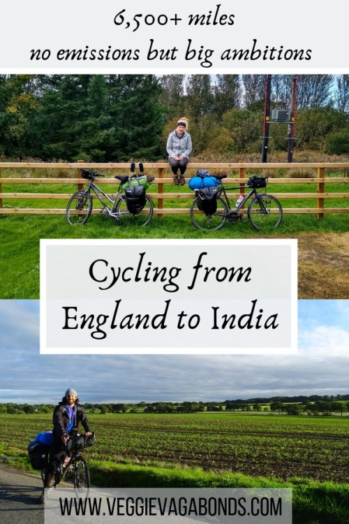 Cycling from England to India