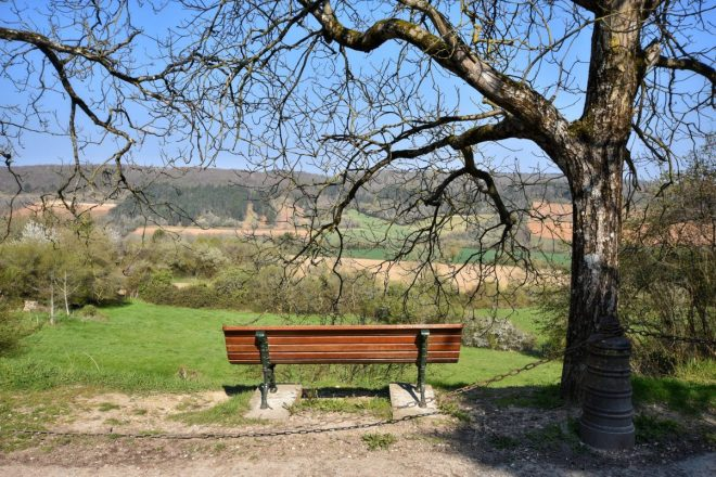 Vézelay view from perimeter walk
