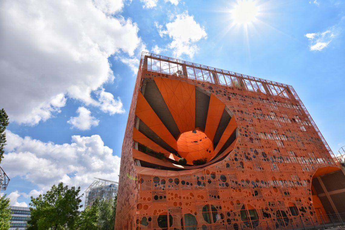 Le Cube Orange at Confluence, Lyon