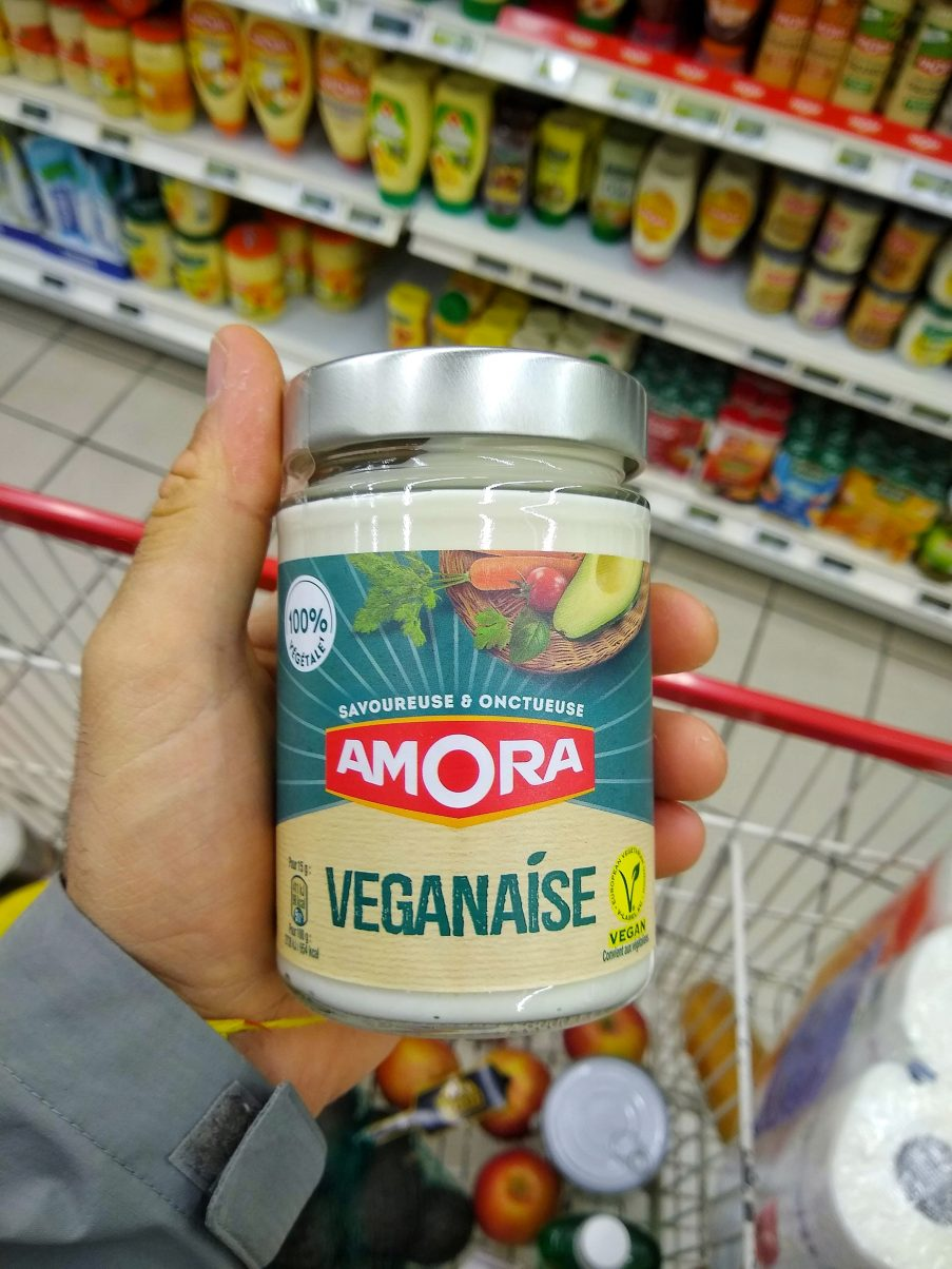 Vegan Mayonnaise in France