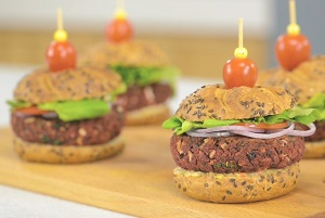 Beetroot Vegan Burgers