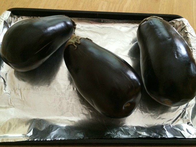 Eggplant Before Oven