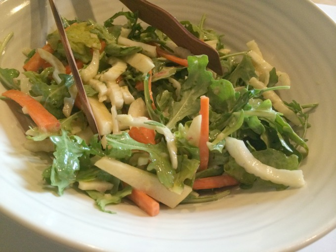 Fennel, Apple and Carrot Salad
