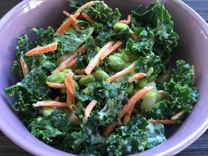 Pear Kale Salad