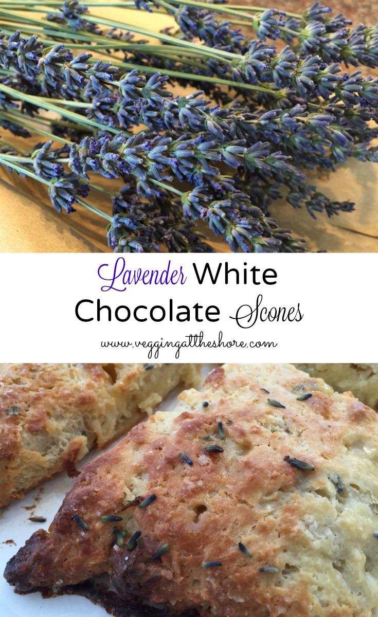 White Chocolate Scones