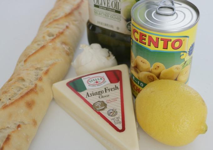 artichoke-crostini-ingredients