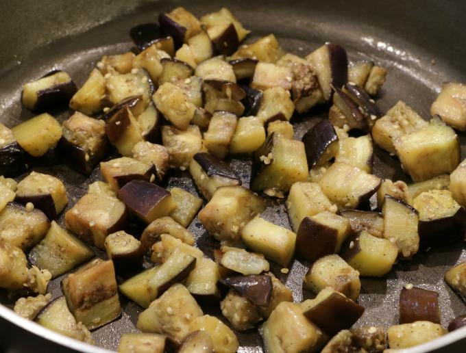 eggplant-in-pan