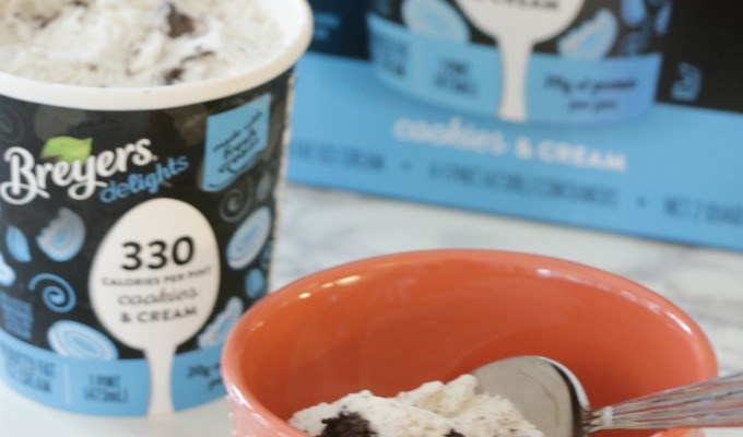 Breyers delights Cookies and Cream Ice Cream
