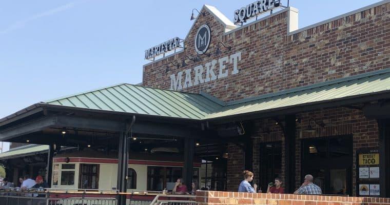Vegan Options at Marietta Square Market