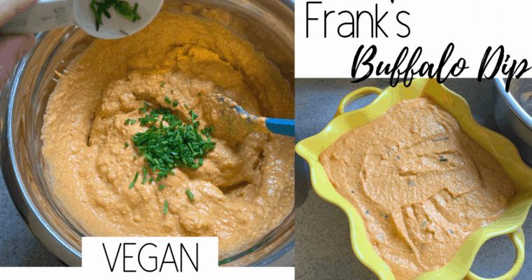 Vegan Franks Buffalo Dip