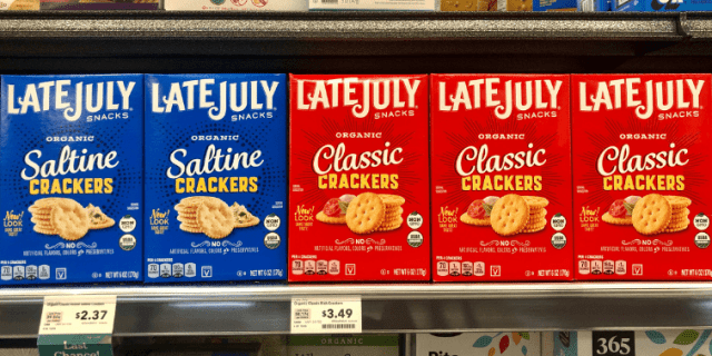 Late July Vegan Crackers