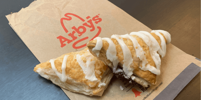 Arby's Apple and Cherry Turnovers