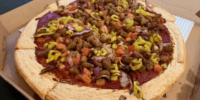 Great Beyond Sausage Pizza