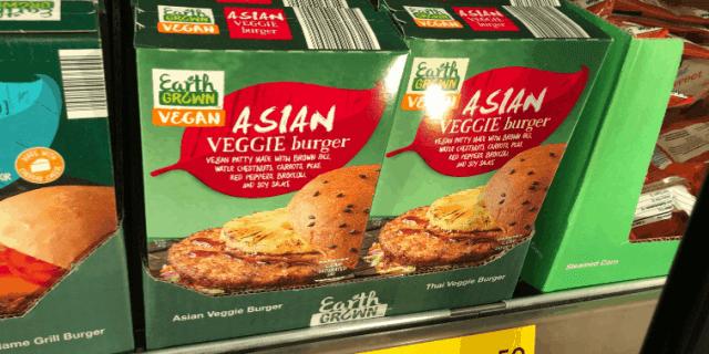 Aldi Vegan Burgers